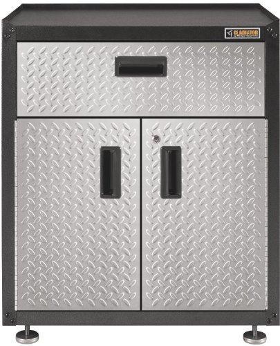 "Gladiator 28"" Steel 3/4 Door Freestanding Garage Cabinet + $80 SYWR Points  $164 + Free Shipping"