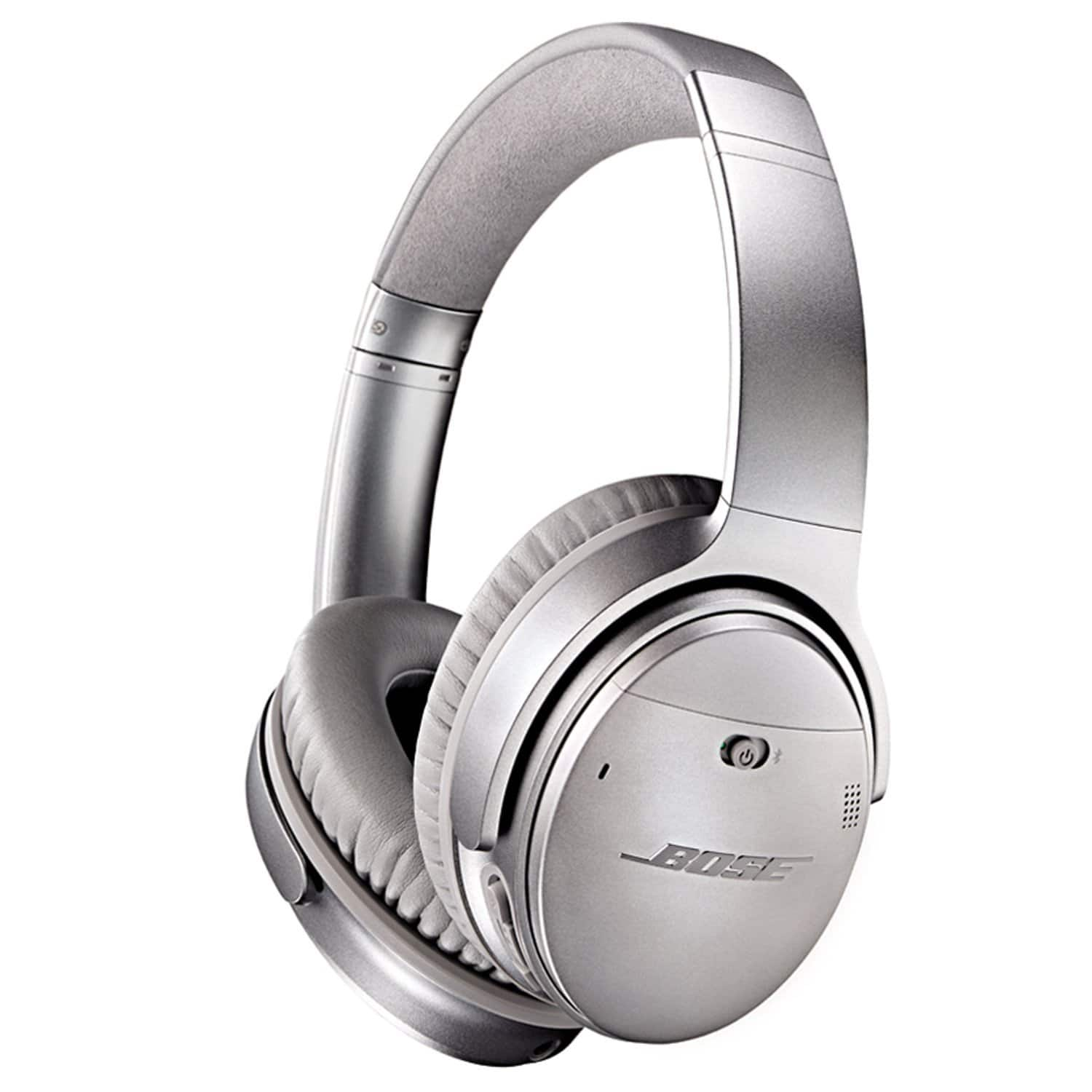 Bose QuietComfort 35 Wireless Headphones w/ Mic & NFC (Silver)  $309 + Free Shipping