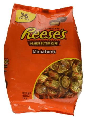 56oz. Reese's Peanut Butter Cup Miniatures  $11.90