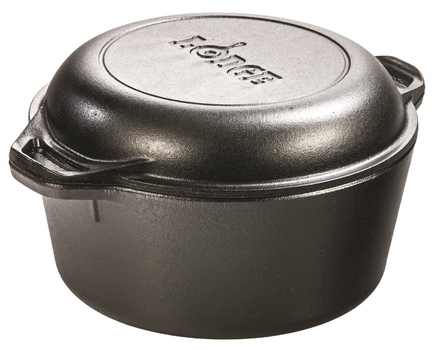 Lodge 5-Quart Double Dutch Oven w/ Skillet Cover  $31.50