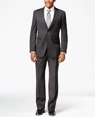 Tommy Hilfiger Athletic-Fit or Classic-Fit Wool Suit $125  + free shipping
