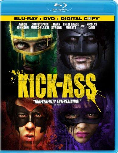 Kick-Ass (Blu-ray + DVD + Digital Copy)  $5 + Free Store Pickup