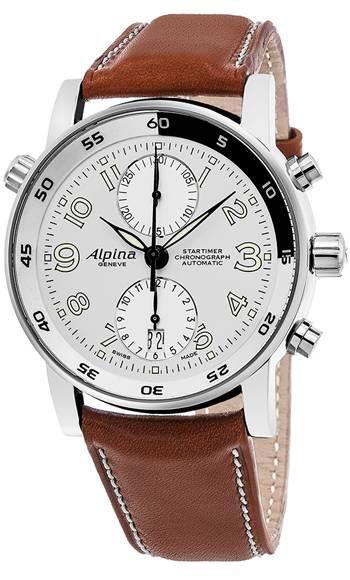 Alpina Startimer Automatic Chronograph Watch $525 + free shipping