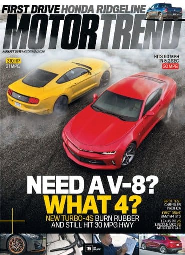 Motor Trend Magazine (Print + Digital) get 4-years for $12