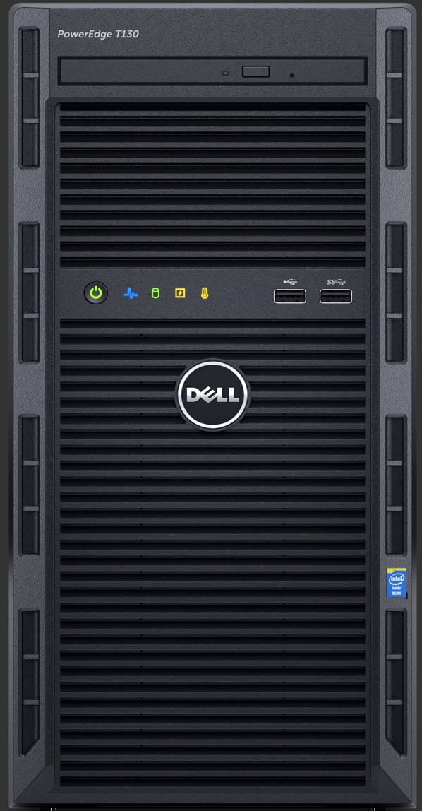 Dell PowerEdge T130 Tower Server: Xeon E3-1220 v5, 8GB DDR4 ECC, 1TB HDD, NO OS  $399 after $130 Slickdeals Rebate + Free S&H