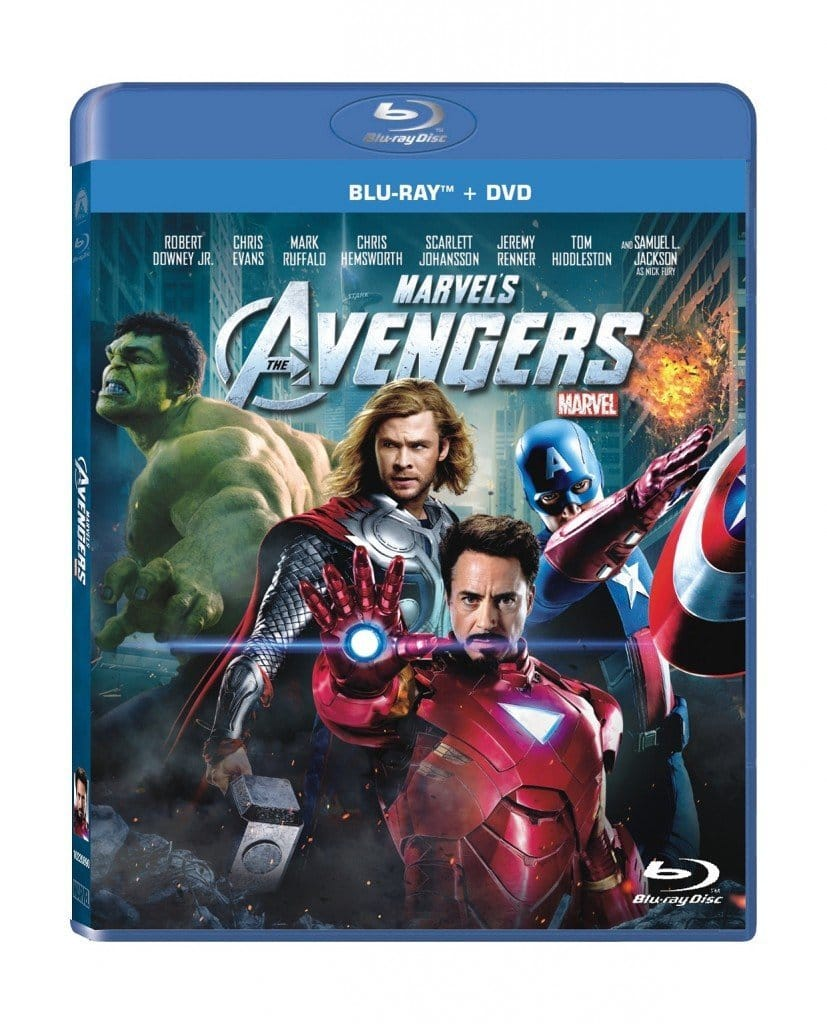 Marvel's The Avengers or Iron Man 3 (Blu-ray + DVD)  $8 + Free Store Pickup