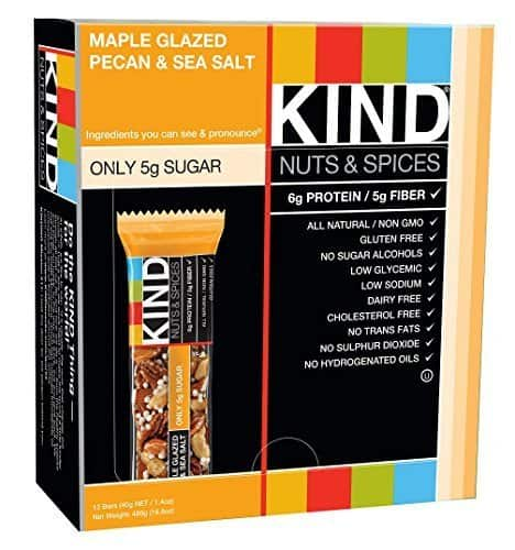 12-Count 1.4oz KIND Bars (Maple Glazed Pecan & Sea Salt)  $9 + Free Shipping