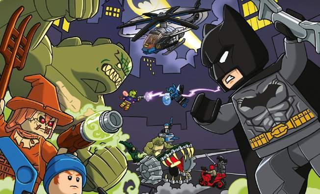 Free LEGO DC Comics Superheros Batman Comic Book Download