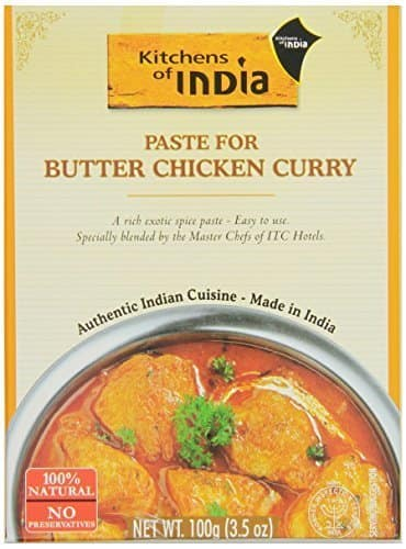 6-Pack of 3.5oz Kitchens of India Butter Chicken Curry Paste $8.55 (or $7.65) + Free Shipping
