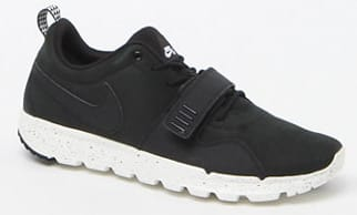 Men's Nike SB Trainerendor Black & White Shoes  $40 + Free S&H $50+