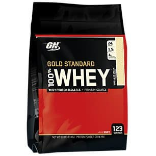 8-lbs Optimum Nutrition Gold 100% Whey Protein (Vanilla)  $65 + Free Shipping