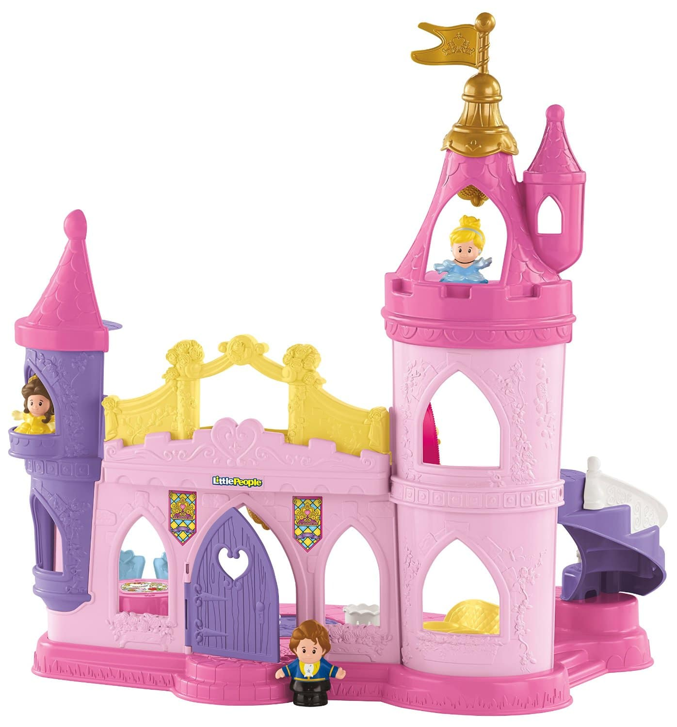 Fisher-Price Little People Disney Princess Musical Dancing Palace  $18.40 + Free Store Pickup