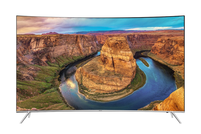 "*** live *** 55"" Samsung UN55KS8500 HDR Curved 4K UHD HTV $1199 + free shipping"