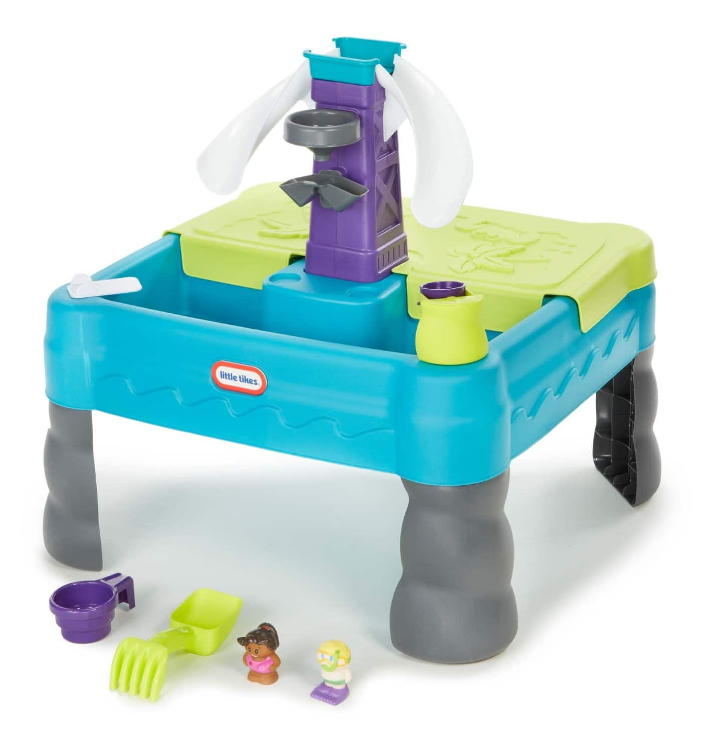 Little Tikes Sandy Lagoon Waterpark Play Table, Teal/Green $26.65 @ Amazon w/ Free Prime Shipping or @ $49
