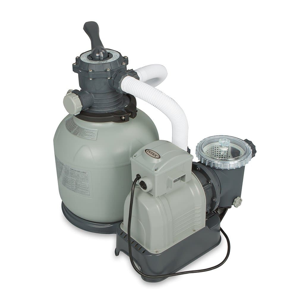 Intex Krystal Clear Sand Filter Pump for Above Ground Pools  $68 + Free Shipping