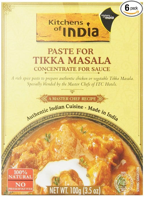 6-Pack Kitchens of India for Tikka Masala or Malabari Chicken Stew $9.35 or less + free shipping