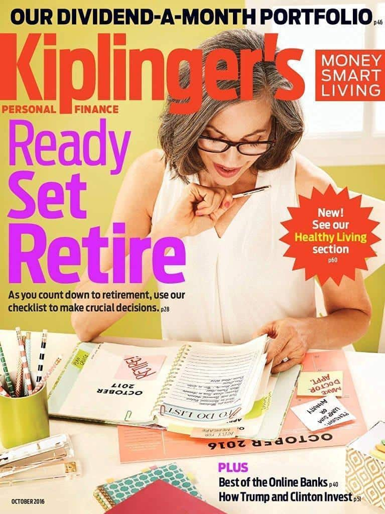 Kiplinger's Personal Finance $5.99 per year or Money Magazine $7.99 per year