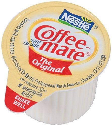 Amazon has Pack of 180 of NESTLE COFFEE-MATE Coffee Creamer, Original, 0.375oz liquid creamer singles for $6.90