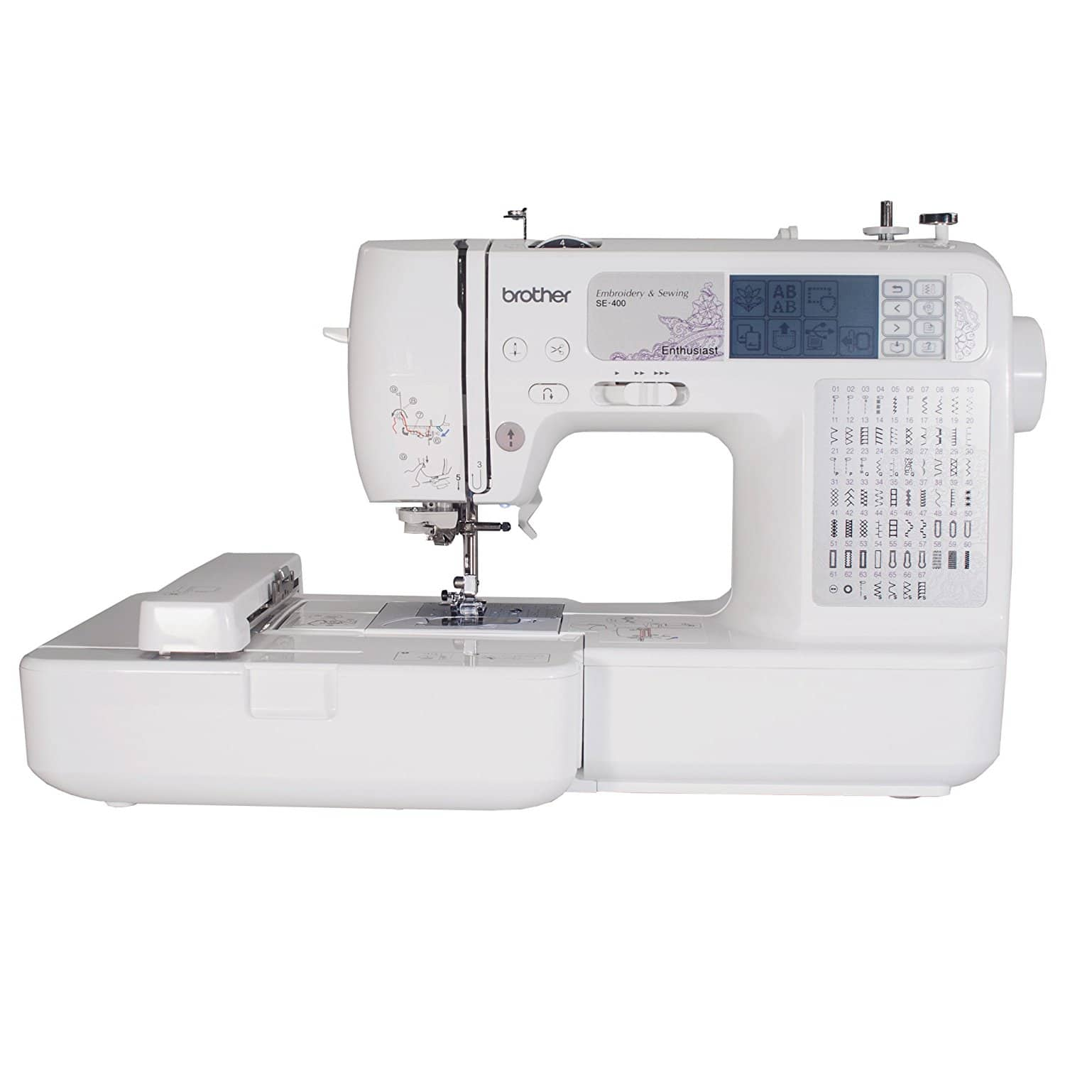 Brother SE400 Computerized Sewing And 4x4 Embroidery Machine - Slickdeals.net