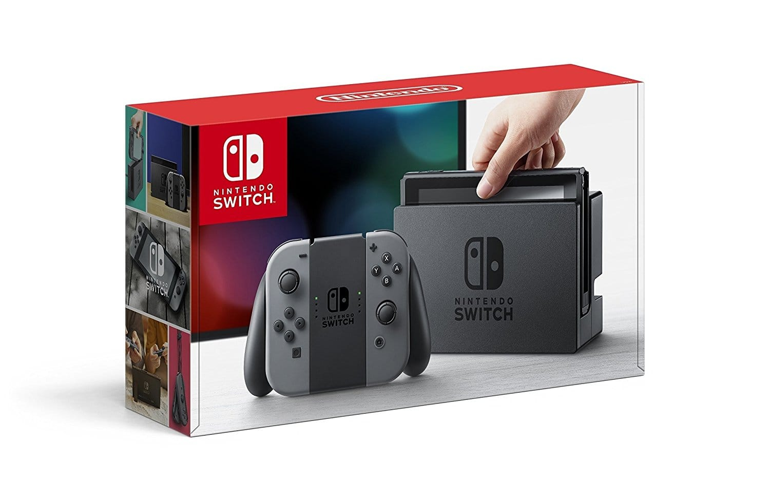 Prime Members: Nintendo Switch with Gray Joy-Con $300 + Free Shipping