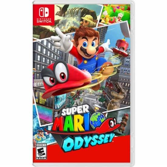 GCU Members: Super Mario Odyssey (Nintendo Switch) + Cappy Collectible Coin $39.19 + Free Shipping