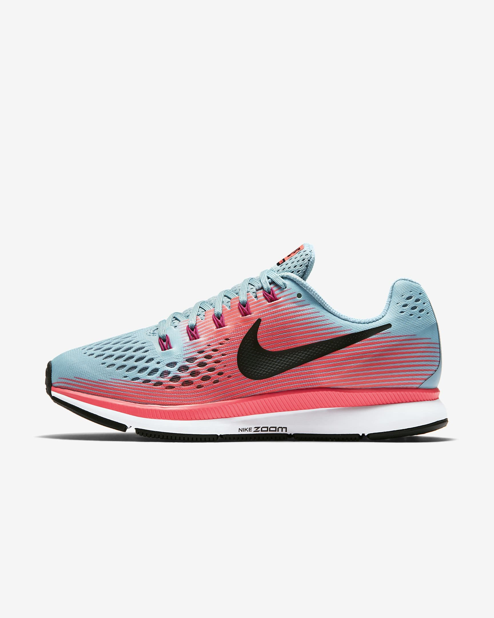 8da6081bc6d1 Nike Women s Air Zoom Pegasus 34 Running Shoe (racer pink ...