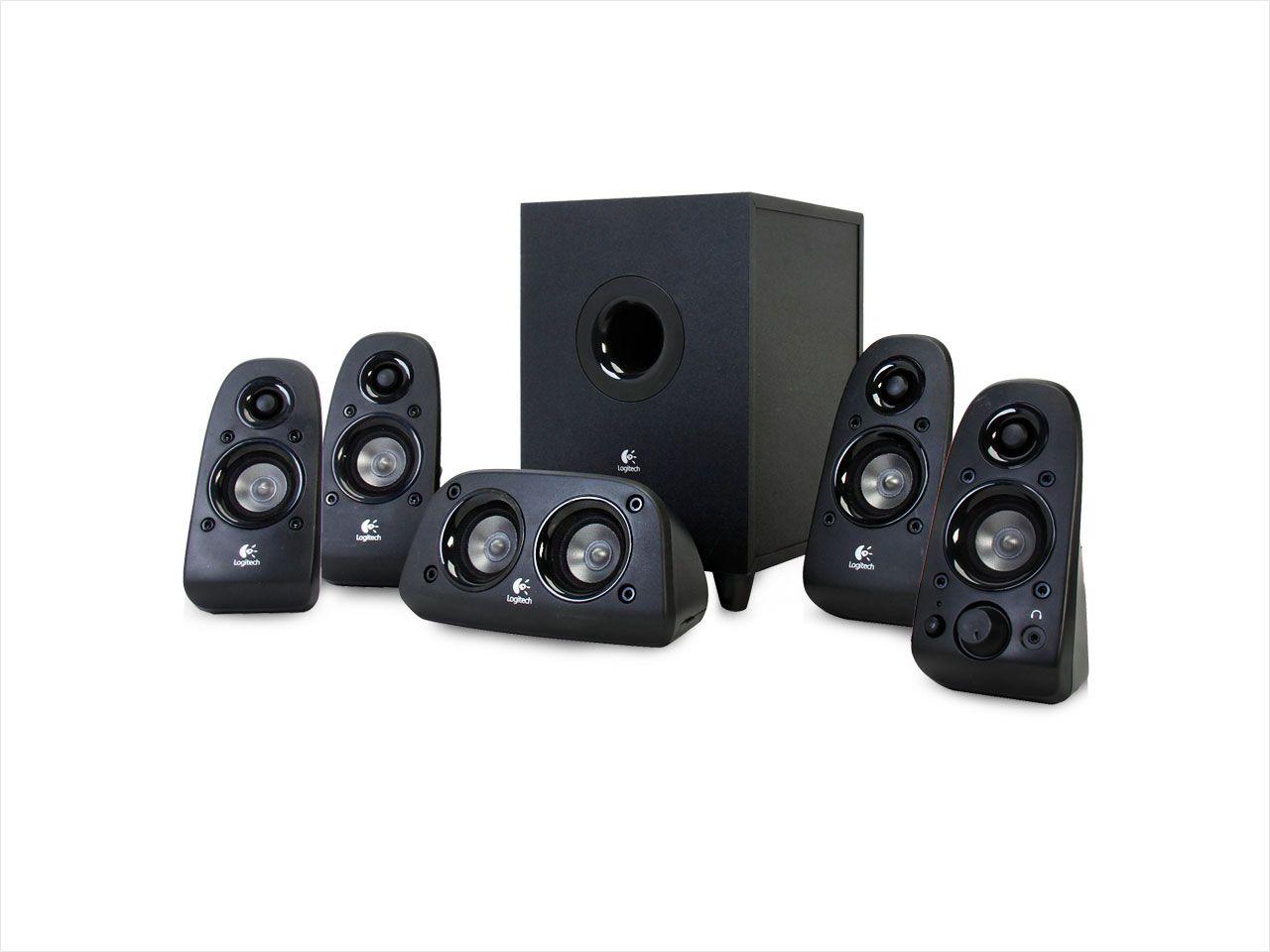 db9c8fb6ebc Logitech Z506 5.1-Ch Home Theater Speaker System (Refurb ...