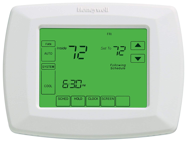 honeywell 7 day touchscreen programmable thermostat slickdeals net rh slickdeals net