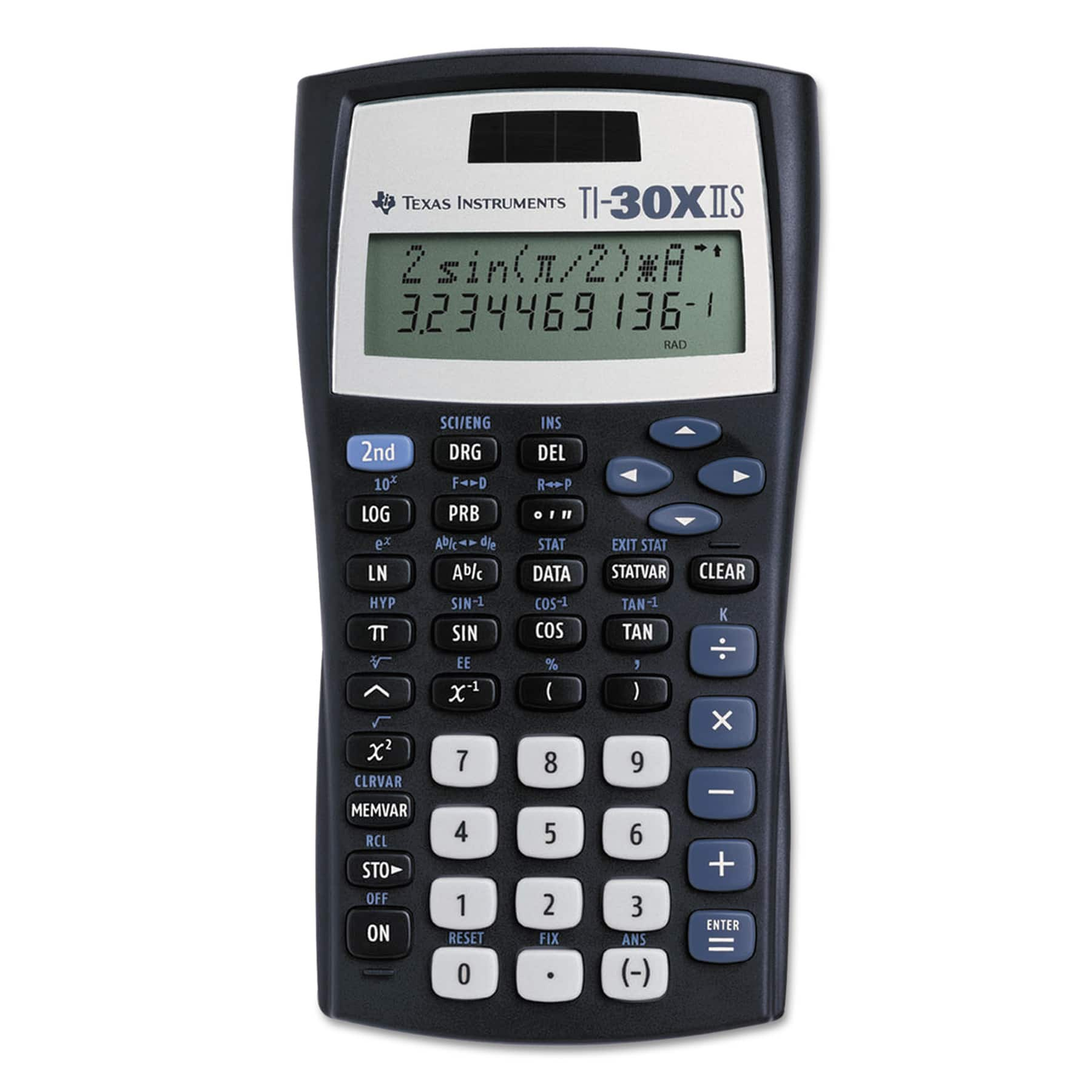 texas instruments ti 30x iis 2 line scientific calculator
