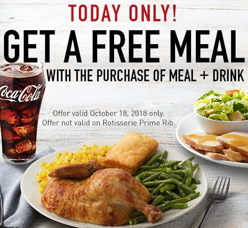 image relating to Printable Boston Market Coupons referred to as Boston Industry Coupon: Order 1 Dinner Consume, Choose a 2nd Supper