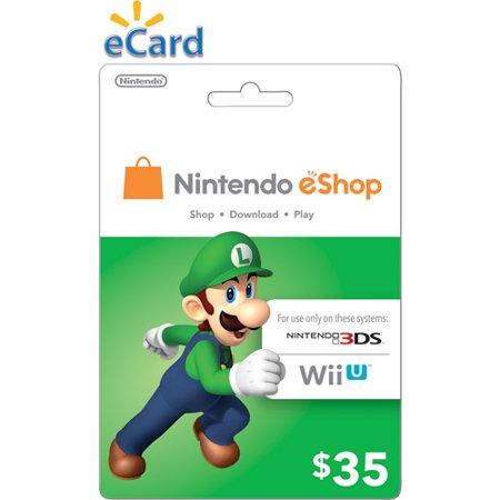 Walmart New Customers: $35 Nintendo eShop eGift Card $25, $35 Google Play Gift Code $25, $40 Steam Gift Card $30, $40 iTunes eGift Card $30 & More