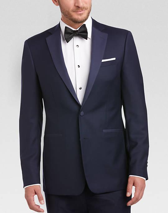 1c0e14b104 Calvin Klein Men's Slim Fit Tuxedo (Navy) - Slickdeals.net