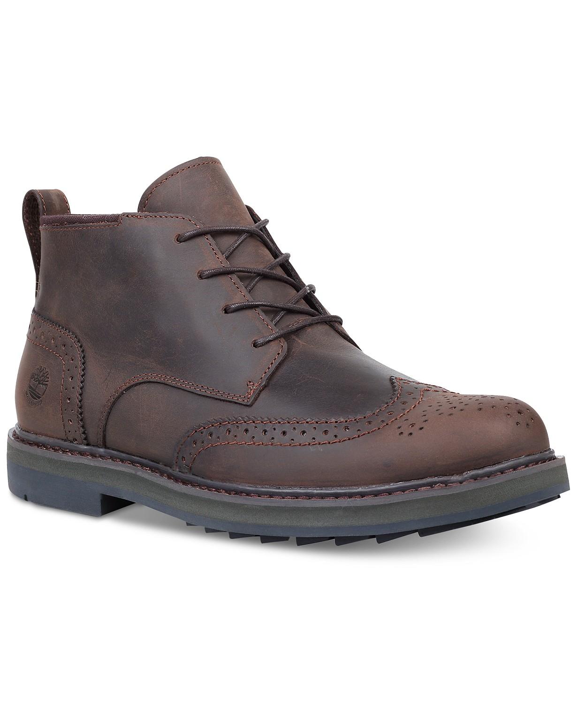 Timberland  Men s Squall Canyon Wingtip Chukka Boots (Various Colors ... a91aa493c