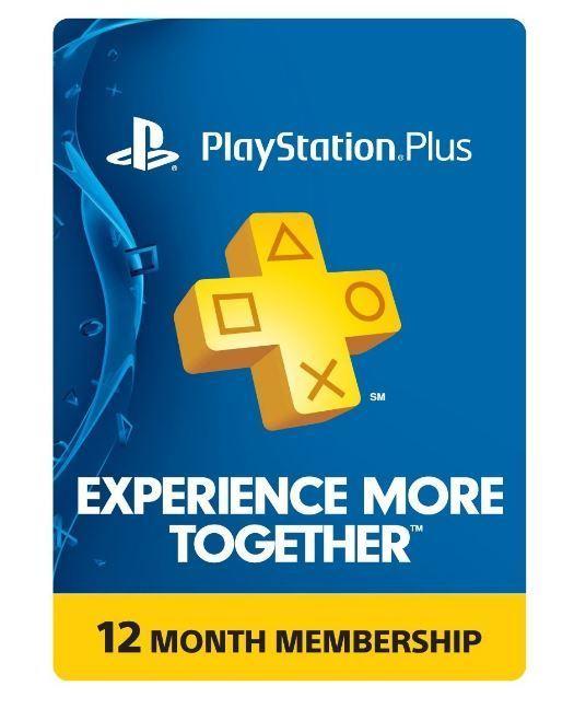 1-Year Sony Playstation Plus Membership Card $39.99 AC + Free Shipping