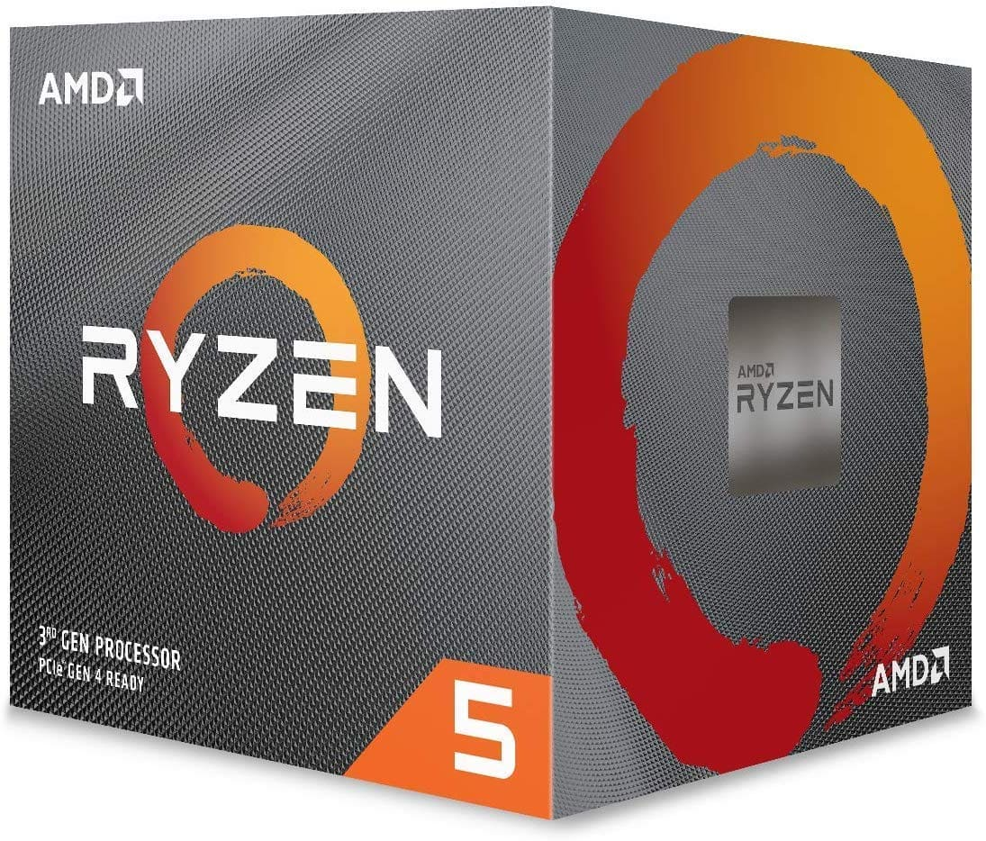 AMD Ryzen 5 3600X 6-core, 12-Thread Unlocked Desktop Processor with Wraith Spire Cooler $199.99