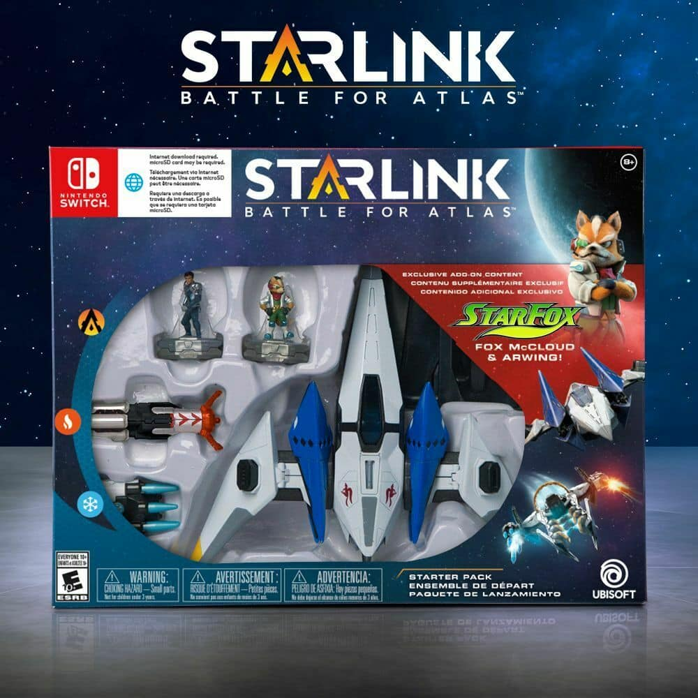Starlink: Battle for Atlas Starter Pack Featuring Star Fox (Nintendo Switch) $4.99 + Free Shipping