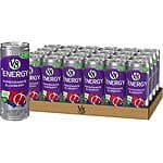 24-Pack 8-Oz V8 +Energy Drink (Pomegranate Blueberry) $10.80 w/ Subscribe & Save