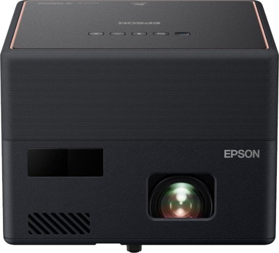 Epson EpiqVision Mini EF12 Smart Streaming Laser Projector with HDR and Android TV for $799 at Best Buy and Amazon