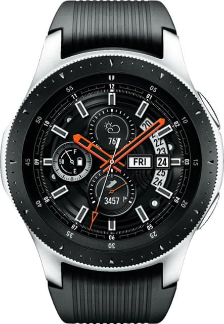 Samsung - Galaxy Watch Smartwatch 46mm Stainless Steel - Silver , $70 for EPP and EDU, *** Back In Stock ***
