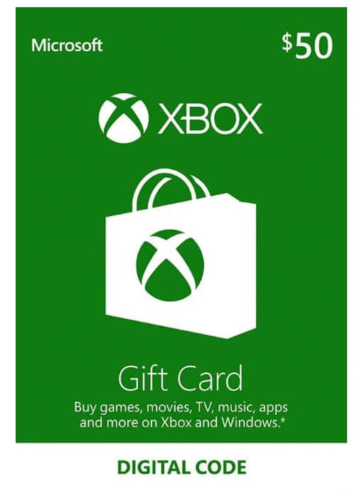 XBOX LIVE Gift Card $50 for $42.5 and $100 for $84.98 (Email delivery only) at LVLGO.com