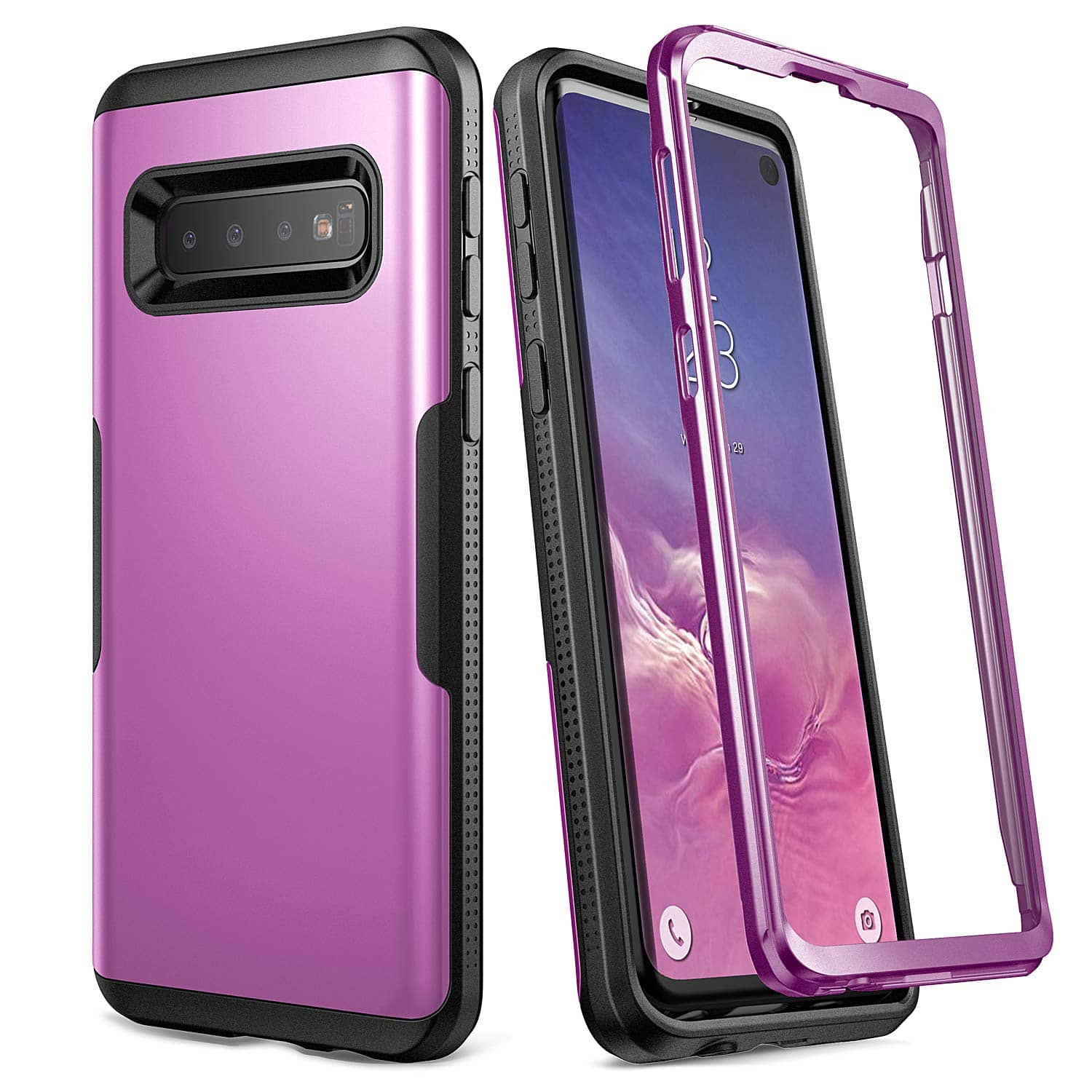 YOUMAKER Slim Fit Rugged Case for Samsung Galaxy S10 $4 @ Amazon