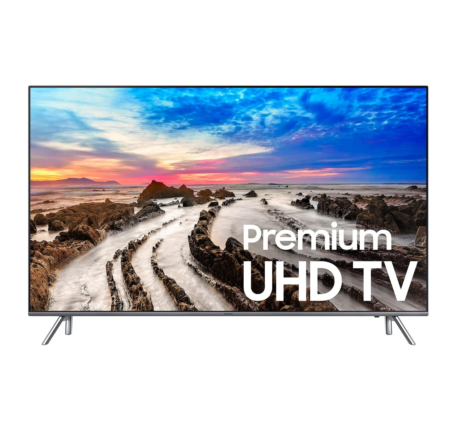 "Refurbished Samsung 65"" Class 4K Smart LED TV (UN65MU800DFXZA) $799"