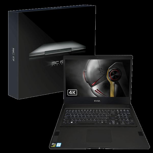 """EVGA SC17 17.3"""" 4K Laptop: i7-6820HK, 256GB SSD, GTX 1070 $1300"""
