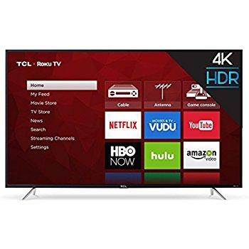 TCL 65S405 65-Inch 4K Ultra HD Roku Smart LED TV $700 at Amazon