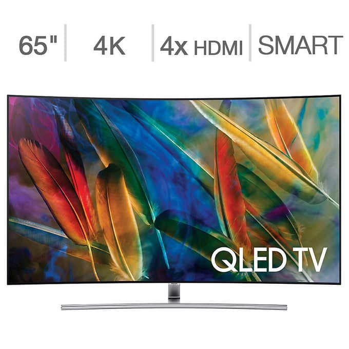Samsung 65 in. Curved 4K Ultra HD QLED LCD TV $2192.99 with Costco Visa