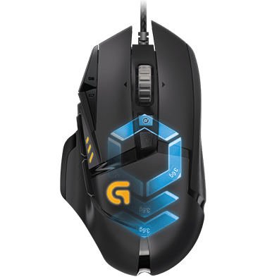 Logitech G502 Proteus Spectrum RBG  $56.99 + tax + ship from gamemice.com or (YMMV) free pickup with BB price match