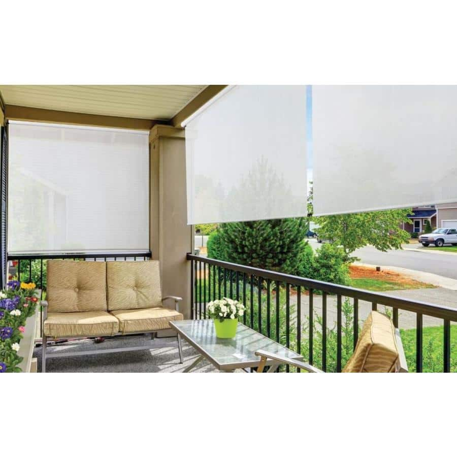 Lowes - $7.99 Coolaroo Simple Lift Roller Shades White Light Filtering Cordless Outdoor Roller Shade (Actual: 36-in x 72-in)  YMMV