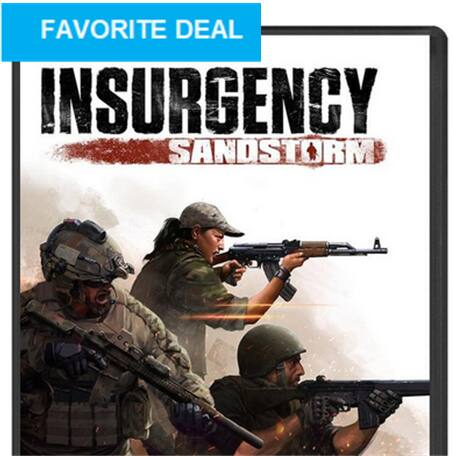 Insurgency: Sandstorm (lowest ever!) 30@Steam - 52% off @ Fanatical(Steam Key) $14.39