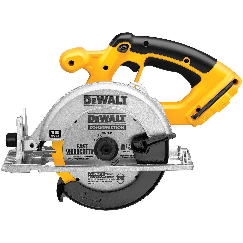 DEWALT Bare-Tool DC390B 6-1/2-Inch 18-Volt Cordless Circular Saw -- $59.99