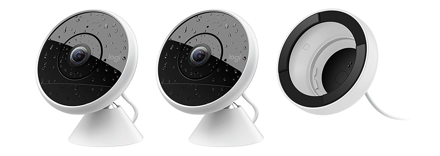 Logitech Circle 2 COMBO PACK: 2 Wired Cameras and Window Mount $259.99